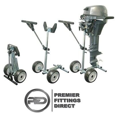 Rooteq Tr-60 Outboard Motor/outboard Engine Folding Trolley Max 15Hp