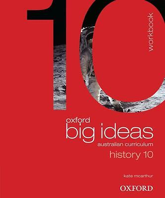 NEW Oxford Big Ideas History 10 By Kate McArthur Paperback Free Shipping