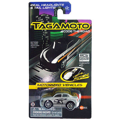 Tagamoto Code The Road Motorized Vehicles Grey Ghost With Lights Brand New
