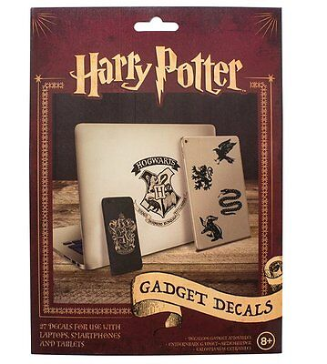 Official HARRY POTTER GADGET DECALS 4 sheets Vinyl Stickers