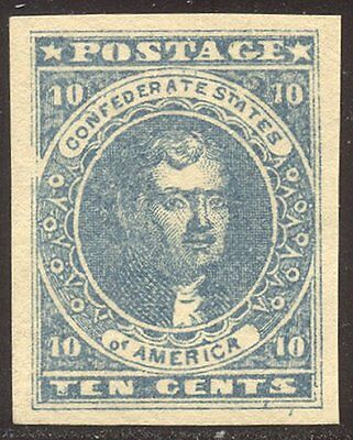 CSA CHOICE #2 Mint - 1861 10c Blue