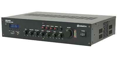 Adastra - RM240SB - 4 Zone 240w 5 Channel 100v Mixer Amplifier With Bluetooth