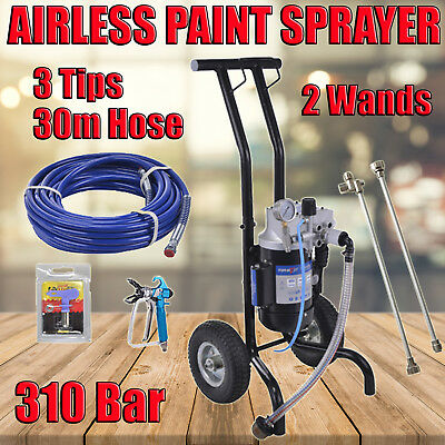 NEW  3HP AIRLESS PAINT SPRAYER SPRAY GUN SPRAYER MACHINE 4L/Min 250Bar