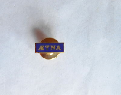 Cool Vintage Aetna Health Insurance Agent Small Enamel Pin Pinback