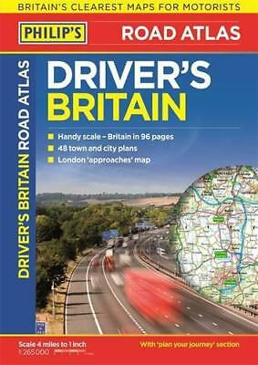 Philip's Driver's Atlas Britain: Paperback (Road Atlas) by Philips | Paperback B