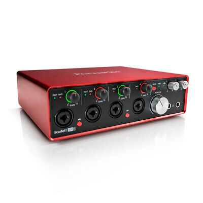 Focusrite Scarlett 18i8 Gen 2 USB Audio Interface with Mic Pream