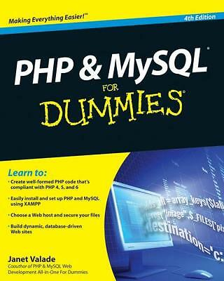 PHP and MySQL For Dummies (Paperback), Valade, Janet, 9780470527580