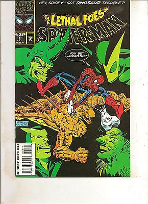The Lethal Foes Of Spider-Man #2 (1993) Marvel Comics V/f