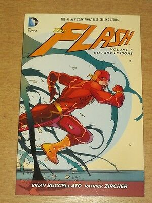 Flash History Lessons Vol 5 by Brian Buccellato (Paperback, 2015)< 9781401257729