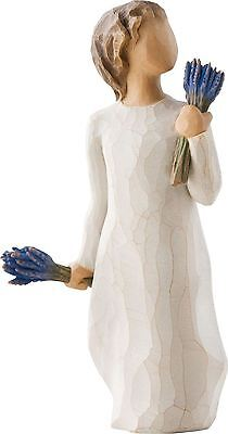 Willow Tree 'Lavender Grace' Figurine Wishing Well Sentiment, 26465