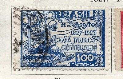 Brazil 1927 Early Issue Fine Used 100r. 097222