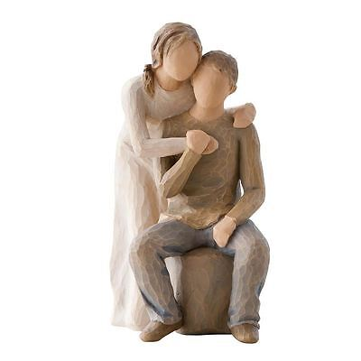 Willow Tree 'You and Me' Couple in Love Figurine Demaco Love Gift, 26439