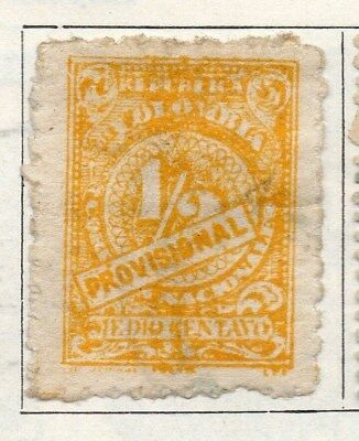 Colombia 1920 Early Issue Fine Used 1/2c. 097619