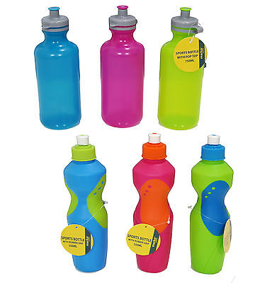 Sport Water Bottle Drink Bottle Fitness Gym Cycling Running Camping Hydration
