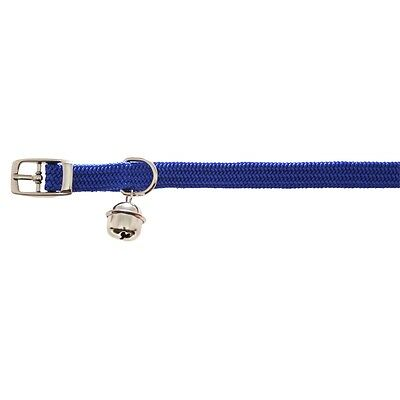 Plain Nylon Fashionable Cat Collar Assorted Colours - Fully Elasticated Washable • EUR 3,49