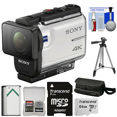 Sony Action Cam FDR-X3000 Wi-Fi GPS 4K HD Video Camera Camcorder Kit