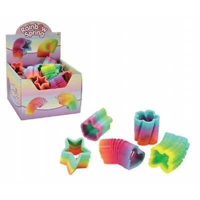 Mini Rainbow Stair Spring Toy - Fun Novelty Gift Pocket Money Party Bag