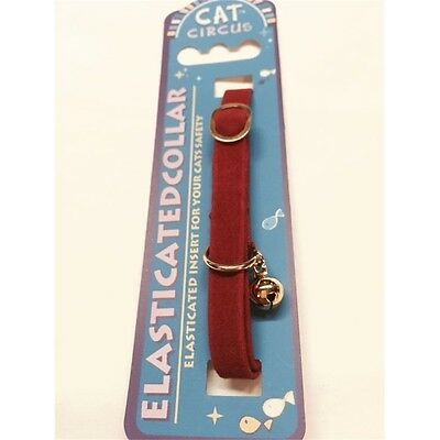 Velvet Cat Collar Assorted Colours - Fashionable James & Steel Pets Accessories