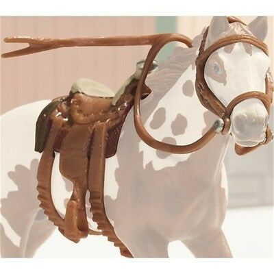 Schleich Horse Western Saddle & Bridle Set - + World Of Nature Farm Accessory