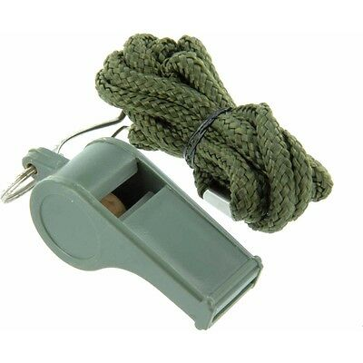 Long Range High Pitched Referee Whistle - Highlander Plastic Camping Cadet Ccf