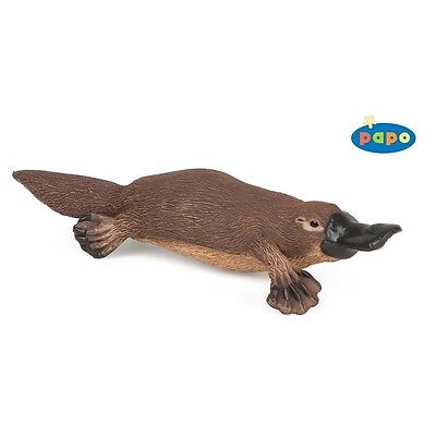 Papo Platypus Animal Figurine - Toy Figure By High Quality Detailed Plastic
