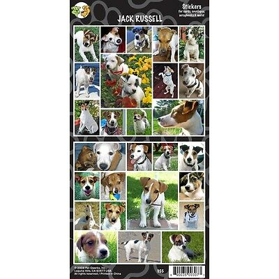 Sheet Of 27 Jack Russel Stickers - Russell Stickersx Dog Lovers Gift