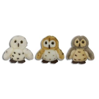 """5"""" Spotted Baby Owl Soft Toy - Wild Republic Itsy Bitsy 5"""" Childrens Small"""