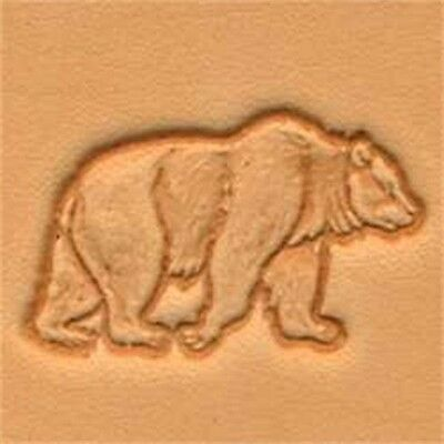 Bear 3d Leather Stamping Tool - Craf 3-d Stamp Imprint Tandy 88304-00