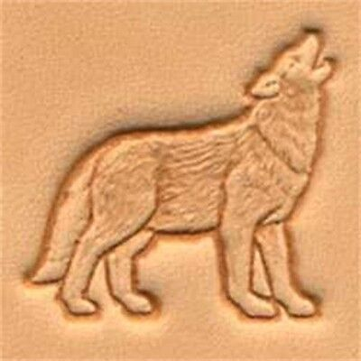 3d Wolf Leather Stamp Tool - Craf Stamping Imprint Tandy 88475-00
