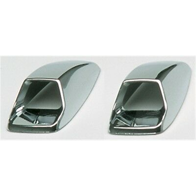 Chrome Screen Washer Covers - Sumex Silver Wind Girll Vent Car Accessory