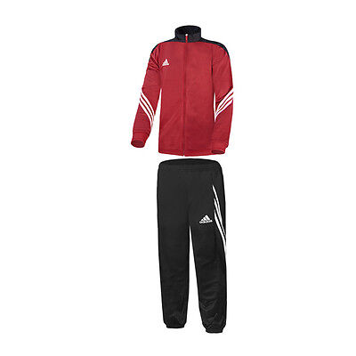 Adidas Sereno 14 Polyester Suit Childrens Suit Red Black D82933 Football