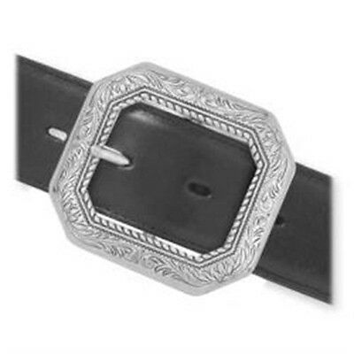 """1-1/2"""" Silver Cody Clipped Corner Buckle - 1-1 2"""" (38 Mm) Belt Making Tandy"""