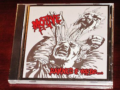Motive: Damned If You Do Dead If You Don't CD 2000 Hard Rock / Thrash Metal NEW