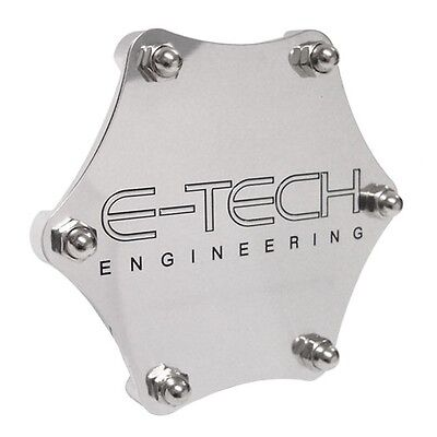 Blue Anodised Alloy Tax Disc Holder - E-tech Hexagonal Interior Windshield
