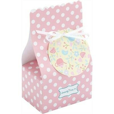 Pack Of 8 Sweetly Does It Paper Treat Bags - Kitchen Craft 7.5cmx 5cmx 12.5cm