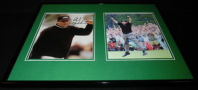 Phil Mickelson Signed Framed 16x20 Photo Set 2004 Masters