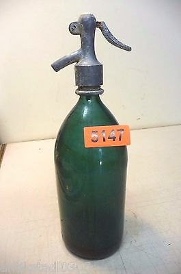 Nr. 5147 .   Alte Sodaflasche  Siphonflasche 1 L  Old Soda Siphon Seltzer Bottle