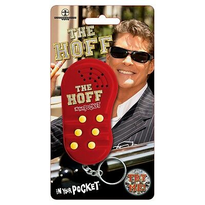 The Hoff Talking Keyring