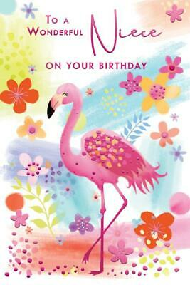 Groovy To A Special Niece Cake Sparkling Candles Design Modern Happy Funny Birthday Cards Online Aboleapandamsfinfo