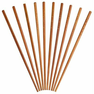 Pack Of 10 Pure Oriental Bamboo Chop Sticks - Chop x Reusable World Flavours
