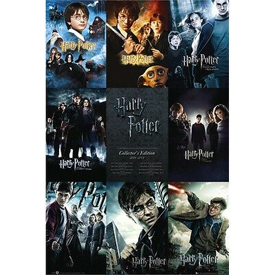 Harry Potter Collection Maxi Poster - 61x91.5cm 150gsm Film Posters Official