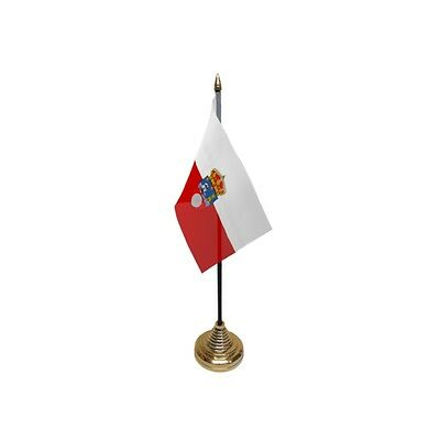 Pack Of 12 Cantabria Table Flags - Flag Spain Spanish Region County Province