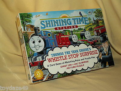 Thomas Tank Train Game Puzzle Whistle Stop Surprise New Shining Time Station