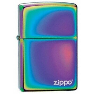 Spectrum Zippo Lighter With Logo - W Pocket Gift Present Smokers Accessory
