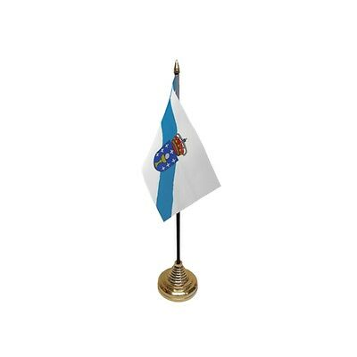 Pack Of 12 Galicia Table Flags - Flag Spain Spanish Region County Province