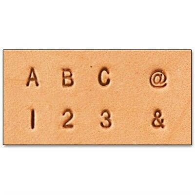 "1/8"" Alphabet & Number Leather Stamping Set - Craftool & 1 8"" (3.1 Mm) Fabric"