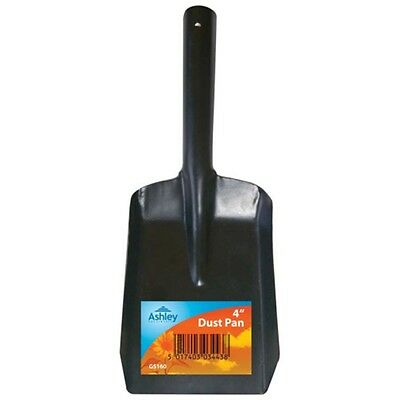"4"" Metal Dust Pan - 11cmx 17cm 4"" Black Household Coal Shovel Scoop Scuttle"