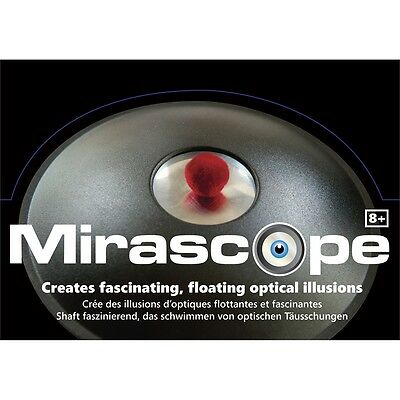 Mirascope Optical Illusion Toy - 3d Floating Magical Magic Trick Hologram