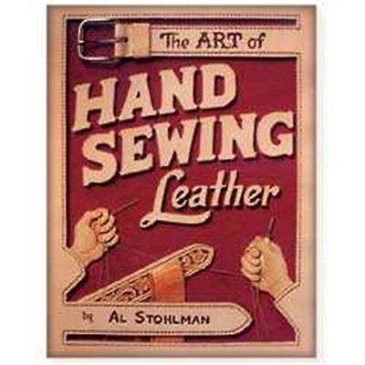 The Art Of Hand Sewing Leather Book - Stitching Techniques Guide Tandy 61944-00
