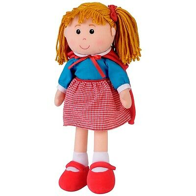 Preschool Little Red Riding Hood Rag Doll - Fiesta Craft Kids Toy Storytelling